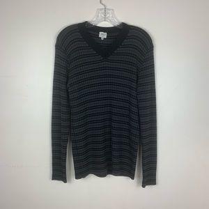 Armani Collezioni v neck sweater made in Italy